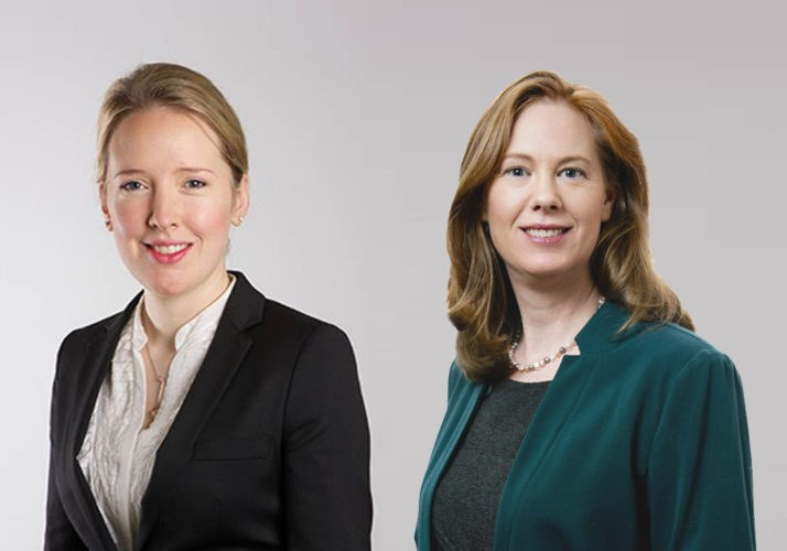 Catherine Tarrant, Head of Clinical Claims and Siobhán Hayes Head of Litigation.