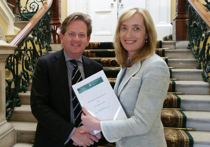 Professor Colm Bergin, Dean of Post Graduate Training at the Royal College of Physicians, Ireland (RCPI) who attended the clinical risk course at the RCPI with Dr Dubhfeasa Slattery, Head of Clinical Risk, State Claims Agency.